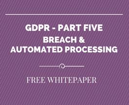 The GDPR Webinar Series – Register Now for Part 5