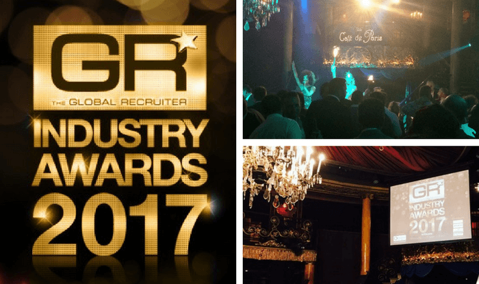 ISV join the celebrations at the Global Recruiter Awards