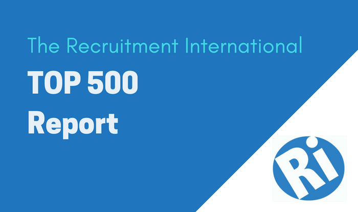 The Recruitment International Top 500 Report