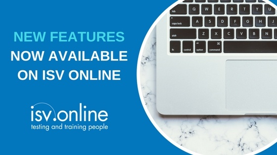 New Features now available in ISV Online