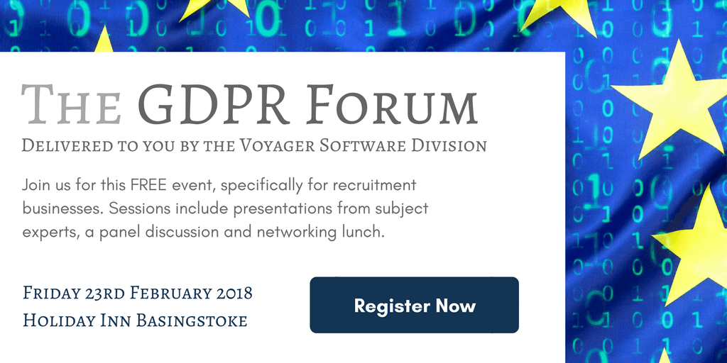 Join us for our GDPR Forum – Get your FREE ticket today