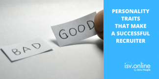 Personality traits that make a successful recruiter