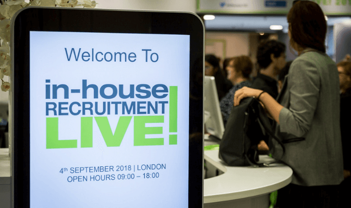 An Inspiring Day at In-House Recruitment LIVE!