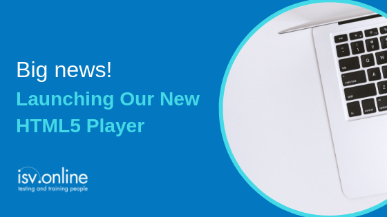 Big News – Launching Our New HTML5 Player