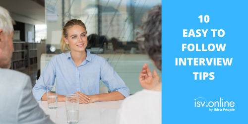 10 Easy To Follow Interview Tips