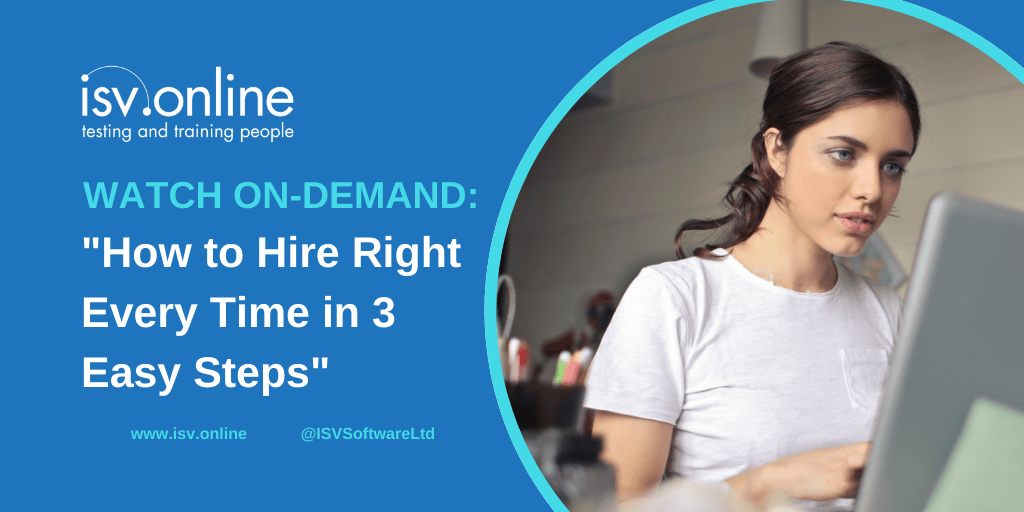Watch on-demand How to hire right in 3 easy steps