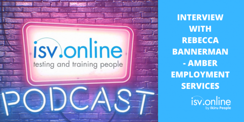 ISV.Online Podcast - Amber Employment Services Testimonial