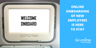 Online onboarding of new employees is here to stay
